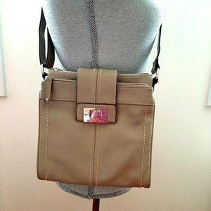Cute Tignanello Crossbody Leather Bag